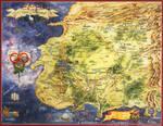 Ruota Del Tempo - mappa Terre Occidentali
