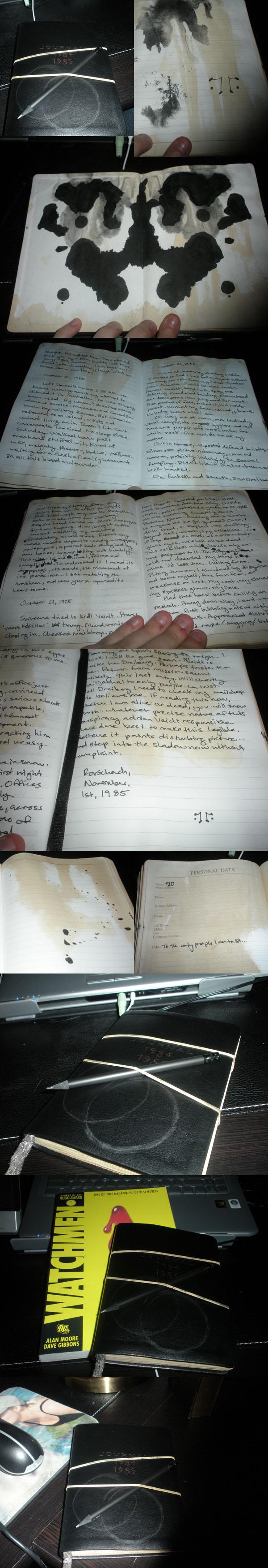 Rorschach's Journal by DarkNevermore13