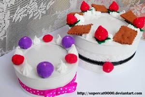 Vanilla cake boxes by SuperCat0000