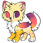 (sparkle dog)Auction **CLOSED** by KingStarButt