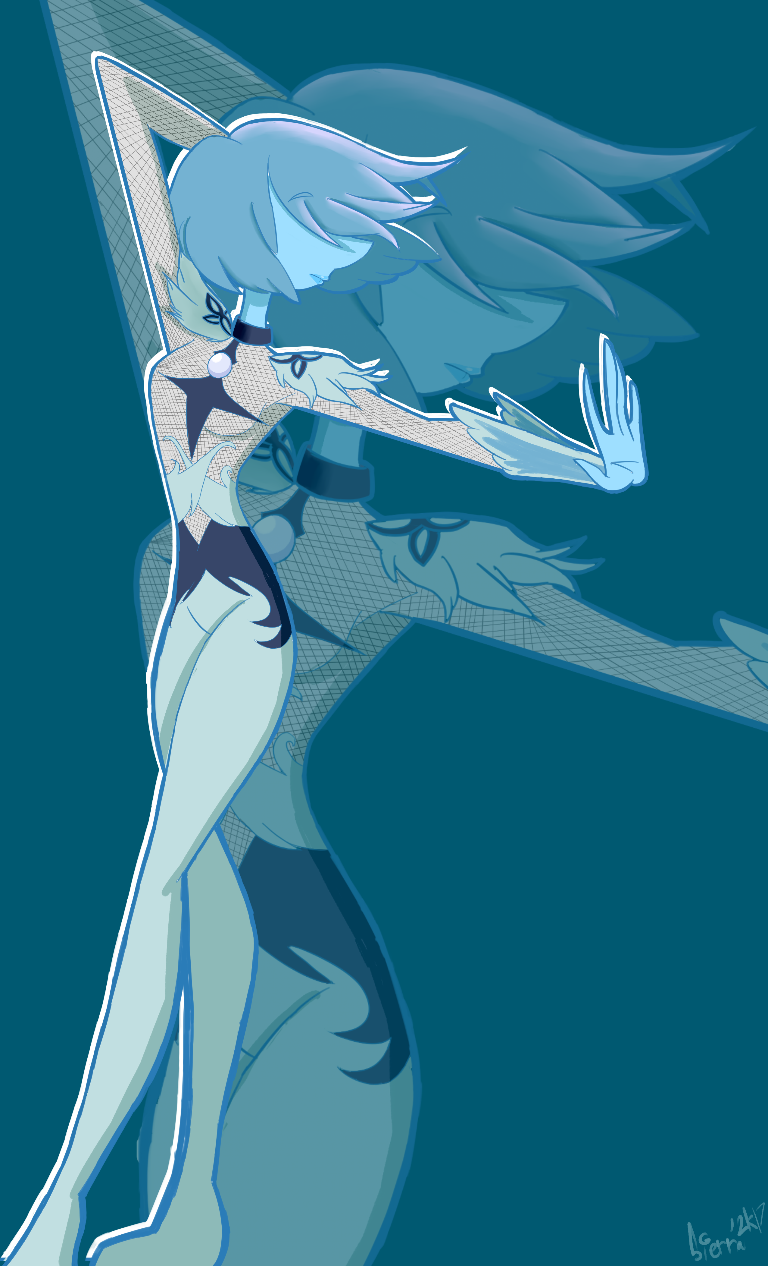 Blue Pearlsetsky by Sierra-G