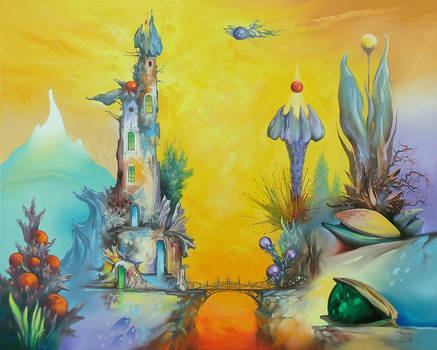 Land of crystalflowers