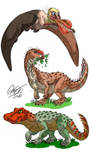 #ArchosaurArtApril - Part 7