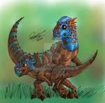 DINOCEMBER 2020 - Pachycephalosaurus