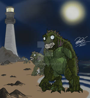 Creatuanary 2021 - Fish Man