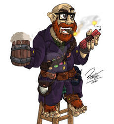 RPG 2021 - Halfling Alchemist