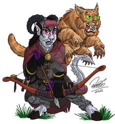RPG 2021 - Tiefling Ranger
