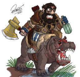 RPG 2021 - Dwarf Barbarian