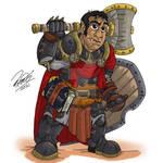 PATHFINDERS - Half Orc Paladin