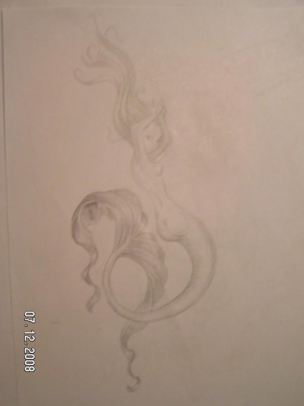 mermaid pose by cording44