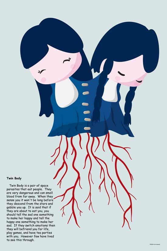 C.P. Twin Body by stitchmind