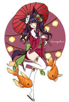 Day 7: Festival by Kaiyakii