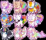 Rainbow Sushi Dogs