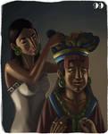 mayan aristocratic woman