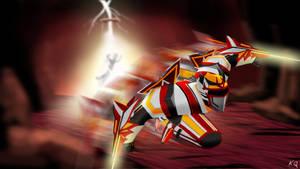 League Fan Art 1: Electrifying Zed by KQ4rt