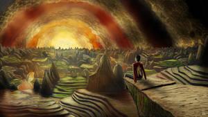 Digital painting 9: Euphoria by KQ4rt