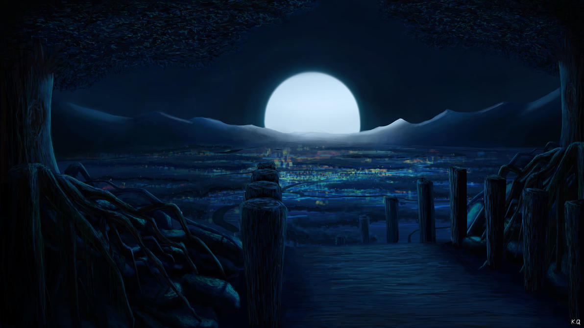 Digital painting 15 time to go home by kq4rt on deviantart for Digitally paint your house