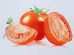 Tomato - Colored Pencils