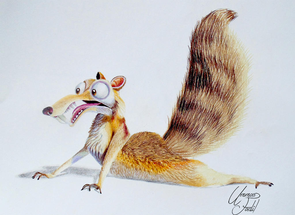 Scrat from the movie I...