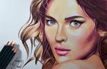 A Random beautiful face -- Derwent artists.