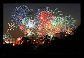 Perth Australia Day Fireworks by StachRogalski