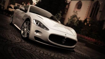 Maserati by StachRogalski