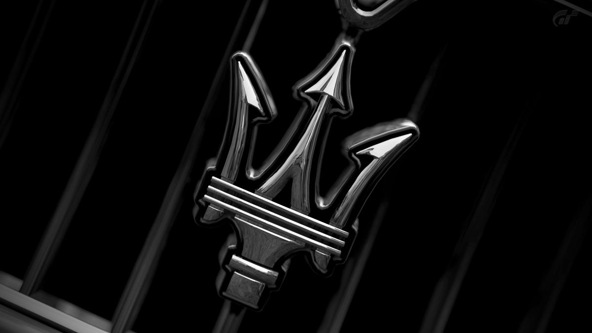Maserati logo by