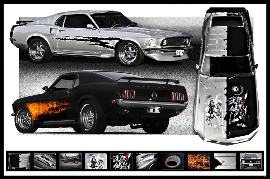 Good vs Evil Custom Mustang by RaynePhotography