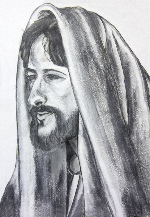 Old pencil drawing of Jesus Christ by StachRogalski on ...