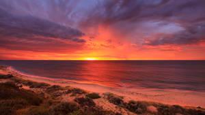 Stormy Sunset Western Australia