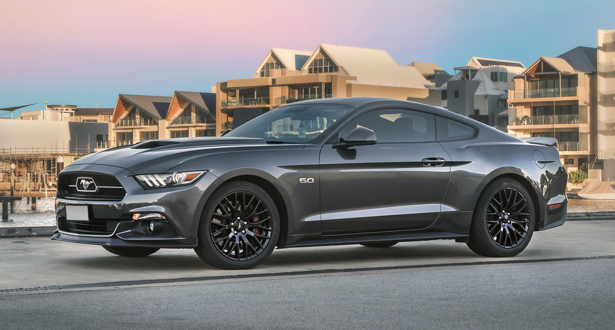 Ford Mustang Front 1 by StachRogalski