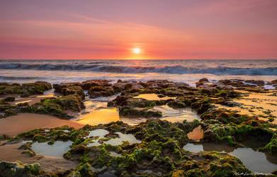 Stunning Sunset over the Beach