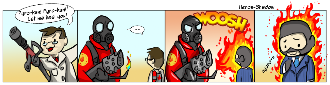 Nyoron trys the spy class by Heros-Shadow