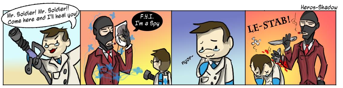 F.Y.I I AM A SPY.