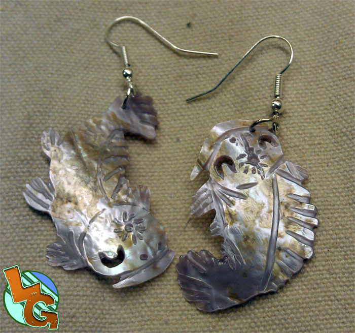 Koi fish earrings by heros shadow on deviantart for Where to buy koi fish near me