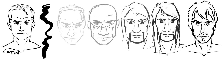 Human faces