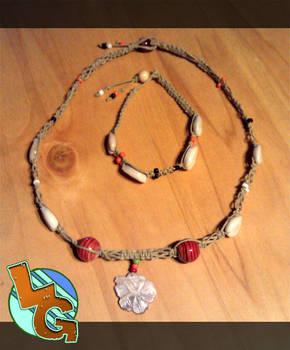Hibiscus Flower Necklace