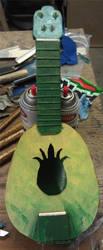 Cardboard Pineapple Uke by Heros-Shadow