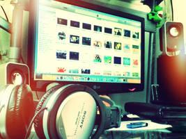 iTunes snow leo by descuidado