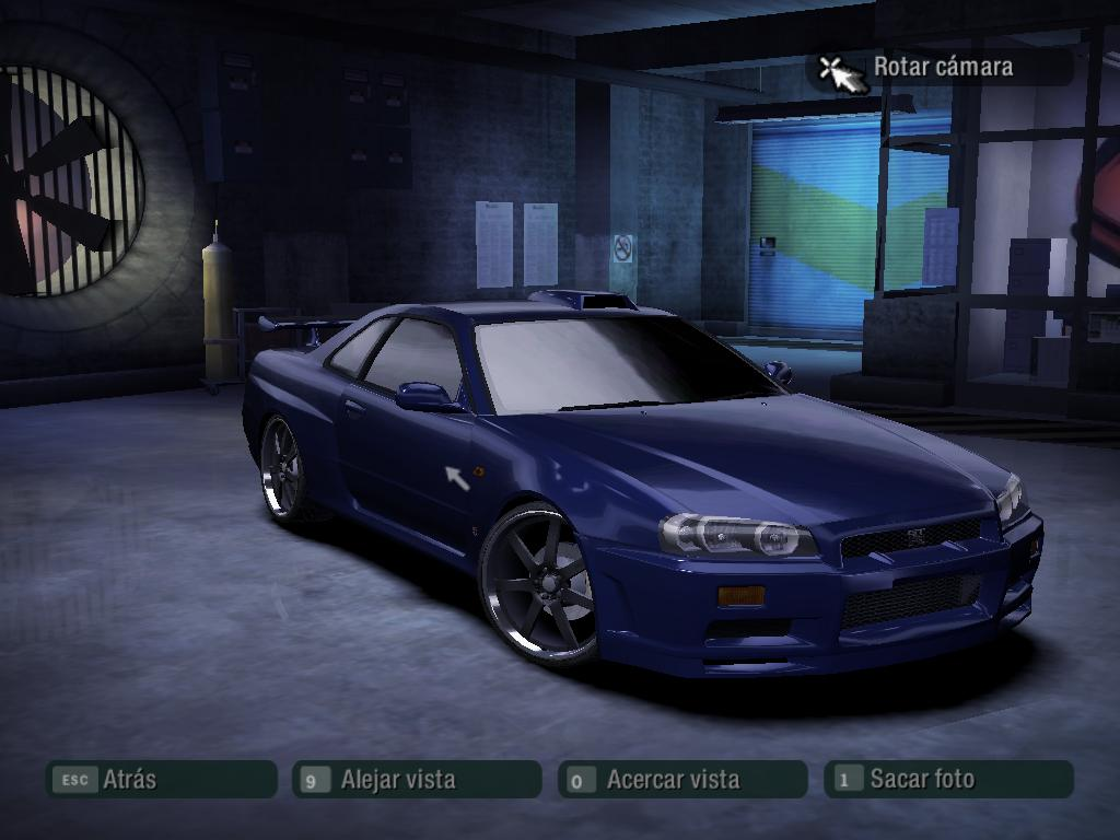 NFS Carbon  Nissan Skyline GTR R34 by 850i on DeviantArt