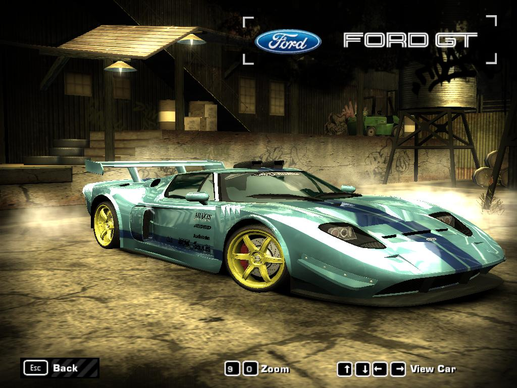 Nfs Most Wanted  Ford Gt By I