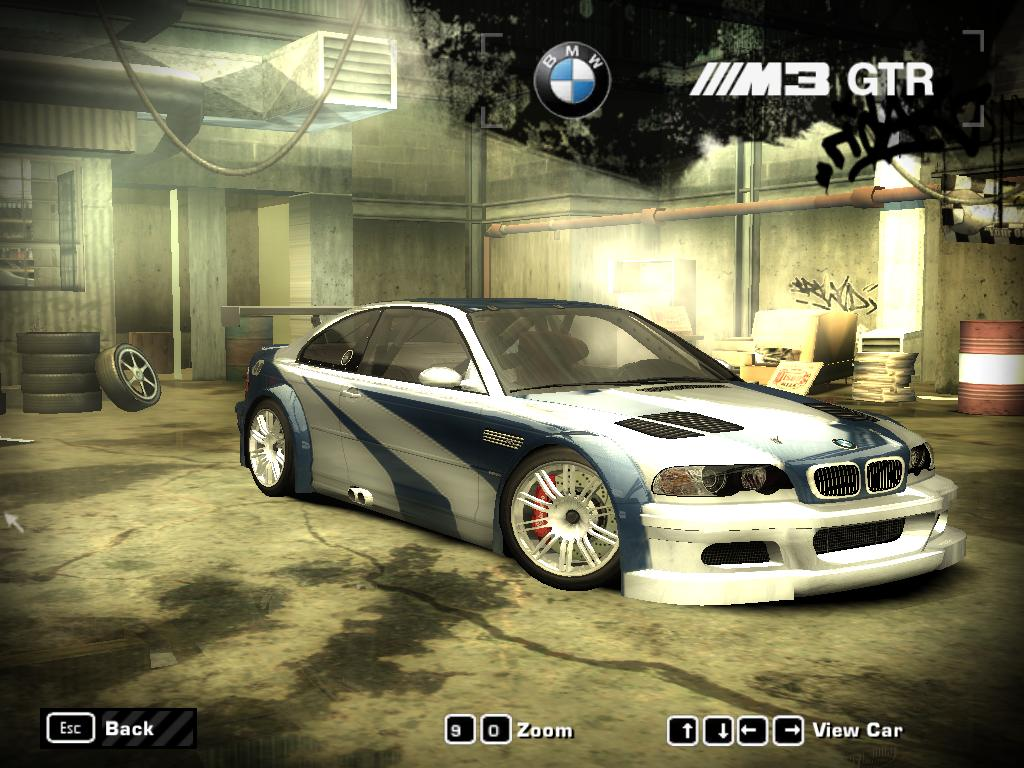 NFS Most Wanted (2005) - BMW M3 GTR by 850i on DeviantArt
