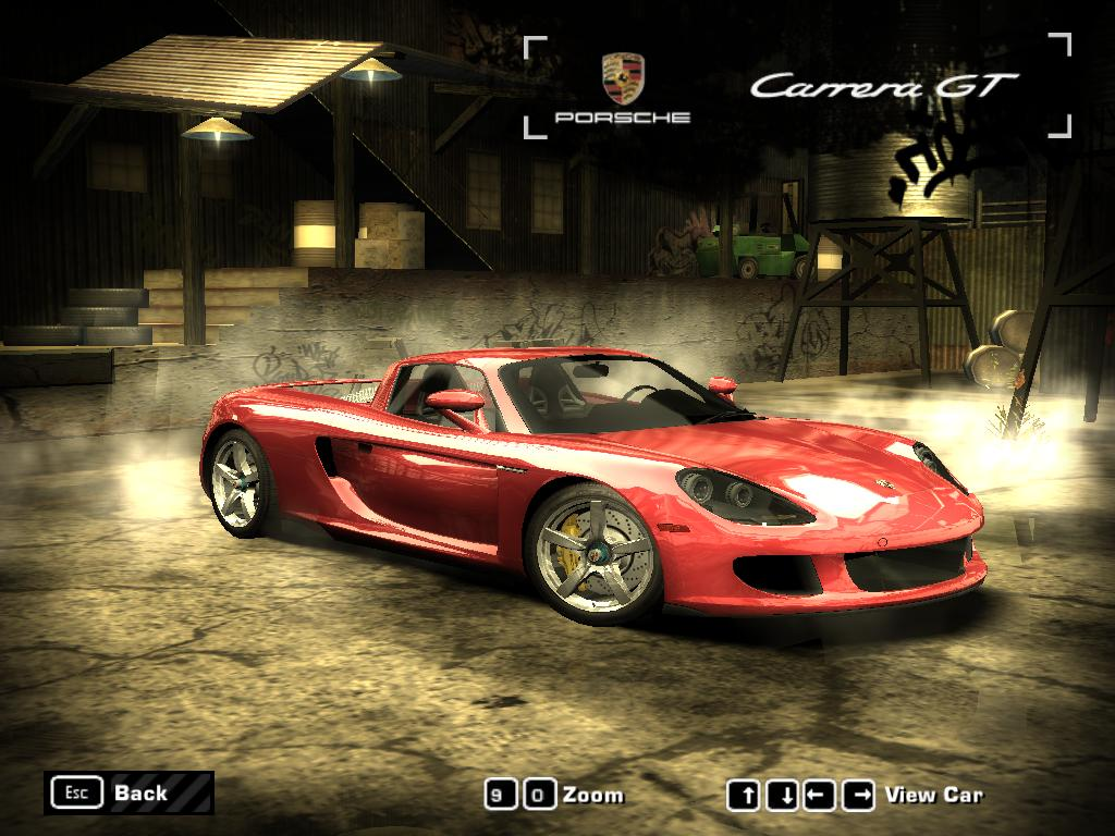 NFS Most Wanted (2005) - Porsche Carrera GT by 850i on