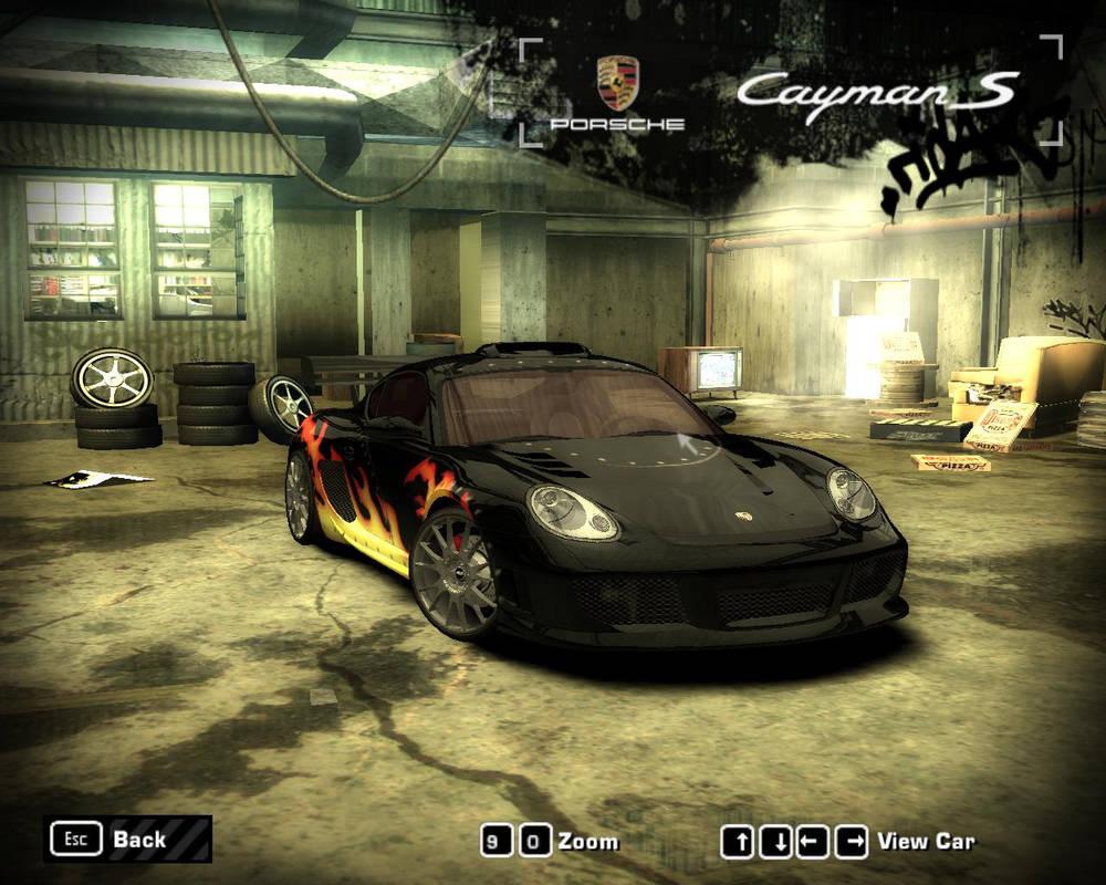 NFS Most Wanted (2005) - Porsche Cayman S by 850i on DeviantArt