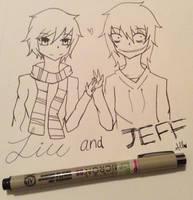 Liu and Jeff by skyloxloves