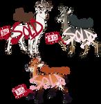 Deer Adoptables [SOLD]