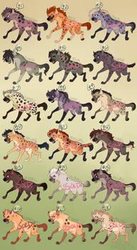 TLK Hyena Adoptables [SOLD]