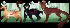 Cat Adoptables 16 [AUCTION - CLOSED]