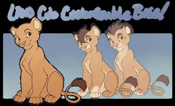 TLK Lion Cub Customizable Base