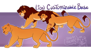 TLK Lion Customizable Base